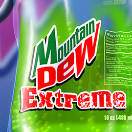 Mountain Dew Extreme