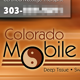 Colorado Mobile Massage
