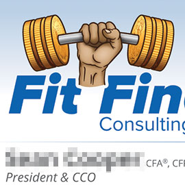 Fit Financial Business Card
